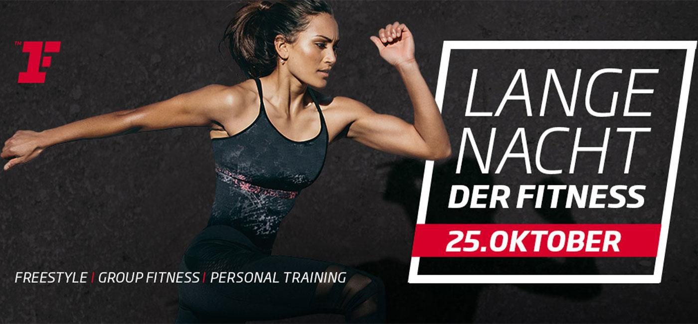 Lange Nacht der Fitness by FitnessFirst & FIT FOR FUN